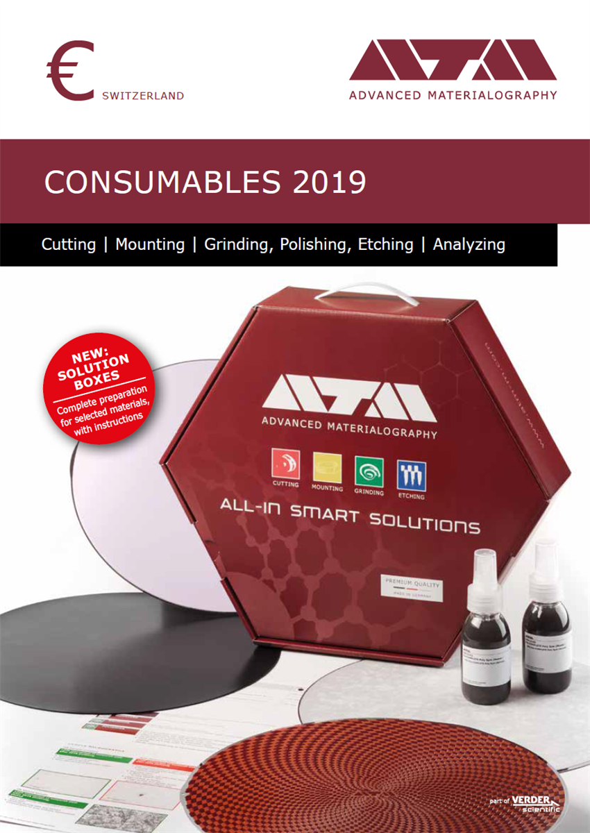 Consumables 2019